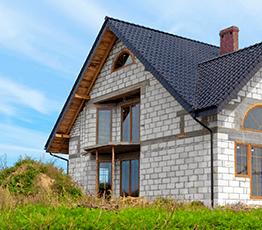 Одноэтажные дома из керамзитоблоков под ключ